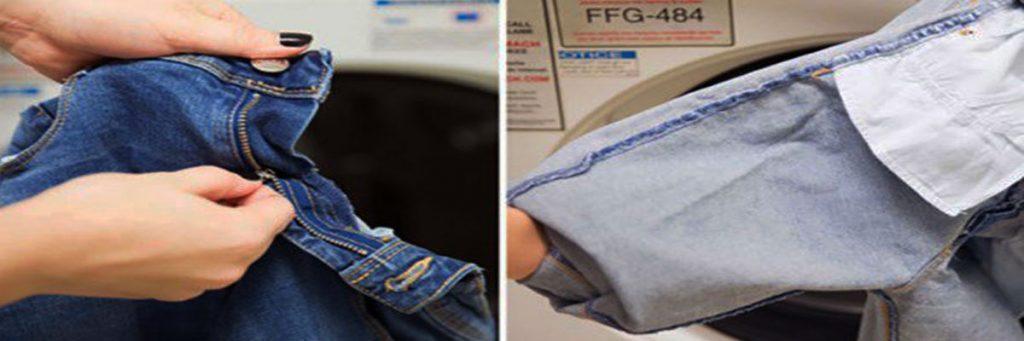 Những trang phục có khóa không nên cho vào máy giặt