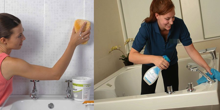 Thường xuyên dọn dep nhà tắm để ngăn chặn sự sinh sôi của các loại vi khuẩn nấm mốc