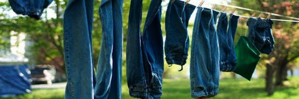Phơi ngược quần áo khi phơi
